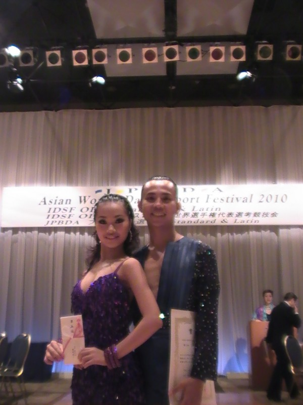 Kết quả Asian World DanceSport Festival 2010